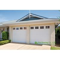 China Detached garage,automatic sectional insulated garage door, Remote control sectional residential garage door for sale on sale