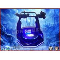 China 360 Degree Player Control Rotation Virtual Theme Park Game VR Standing Battle Simulator on sale