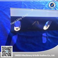 Buy cheap Hard Alloy Plastic Shredder Blades , Durable Plastic Crusher Machine Parts product