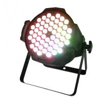 Buy cheap Indoor 200W 54pcs 3w RGB 3in1 Full Color LED Stage Wash Par Lights product