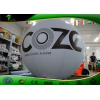 Buy cheap Advertisement Inflatable Helium Balloon Durable Fireproof 0.15mm - 0.18mm PVC product