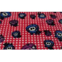 Buy cheap 100% Polyester Printed Coral Fleece Fabric product