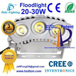 Buy cheap La lumière d'inondation de LED 20-30W avec du CE, RoHS a certifié et projecteur de refroidissement d'efficacité de meilleur fabriqué en Chine product