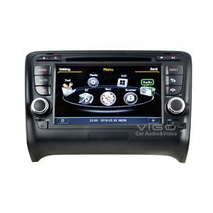 Buy cheap Audi TT In Car Stereo Sat Audi Sat Nav DVD Auto Radio GPS Navigation C078 product