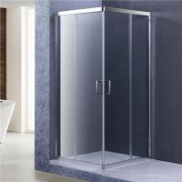 China 8mm Glass Bathroom Shower Enclosure, 1900MM height Corner Entry Cubicle wholesale
