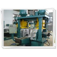 Buy cheap 4 Column Guide Horizontal Parting Core Shooting Machine With Cold Hot Dual Use product