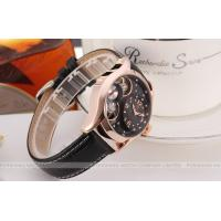 Buy cheap Winner Round Black Leather Ladies Automatic Watch Diamond With 40mm Case product