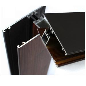 Buy cheap ポリカーボネートのための産業木製の終わりのアルミニウム プロフィールはOEM/ODMを広げます from wholesalers