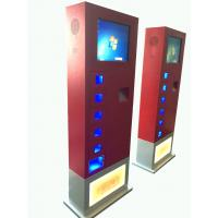 Buy cheap 17inch Cell Phone Charging Kiosk vending machine Led light charging product