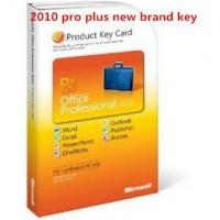 Microsoft Office 2010 Product Key Card For Microsoft Office 2010 Professional Plus - 102687873