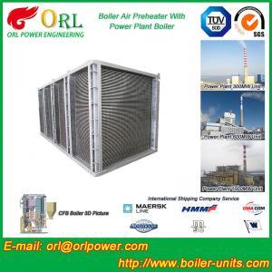 Preheater de ar bonde vertical da caldeira no tipo tubular do central elétrica do vapor