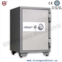 100L Bank / Office / home Fireproof Safe boxes for 1010 Degree 120 Minutes Endurance Test for insurance companies