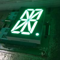 Buy cheap Pure green 16 Segment LED Display single digit for digital read-out panel product