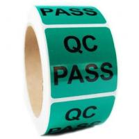 China QC Pass Security Sticker Labels , Custom Shape Security Seal Stickers Eco friendly on sale
