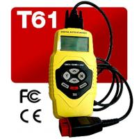 China T61 Auto Diagnostics Scanner Live Data / Multi-Language Display Definition For 50 Brands Vehicle on sale