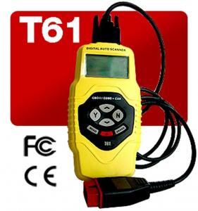 China T61 Car Diagnostics Scanner Live Data / Multi-Language Display Definition , Engine Analyzer on sale