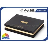 Buy cheap Upscale Custom Rigid Paper Gift Box Packaging Hot Stamping For Cosmetics product