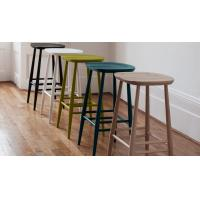 Buy cheap Commercial Furniture Modern Bar Chairs Plywood Seat Bar Stool Solid Ash product