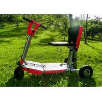 Buy cheap Brushless DC Motor Electric Scooter For Adults , 48V 8.7Ah Lithium Battery Travel Mobility Scooter product