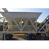 Buy cheap YHZS50 JS1000 Concrete Batching Plant Mobile Type With 50 M³/H Capacity product
