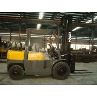 Buy cheap 4.5m Lifting Height 4.5 Ton Forklift , LPG Gas Operated Forklifts 2 Stage Mast product