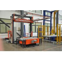 Buy cheap High Power Auto Pallet Wrapper / Fully Automatic Stretch Wrap Machine from wholesalers