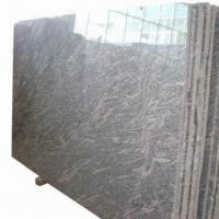 China Granite Slab/Tiles with Polished, Honed and Bush-hammered Finishes on sale