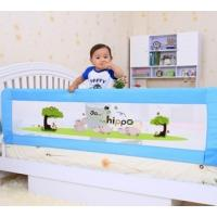 China Adjustable Cartoon Mesh Toddler Bed Rail For Queen Bed Safe Sleeper on sale