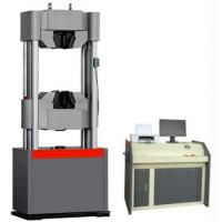 Buy cheap Electro Servo Hydraulic Testing Machine Computer Control 6 Columns Structure product