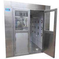 Buy cheap Medical Class 100 Stainless Steel Air Shower Clean Room Laboratory product