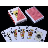Buy cheap RUITEN Plastic Invisible Playing Cards / Red Color Marked Poker Cards product