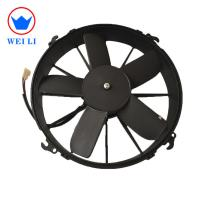 China 2018 auto cooling system 12/24V DC motor condenser fan on sale