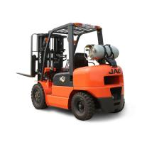 Buy cheap Efficient Dual Fuel Forklift , Load Capacity 3 Ton Gasoline Lpg Forklift product