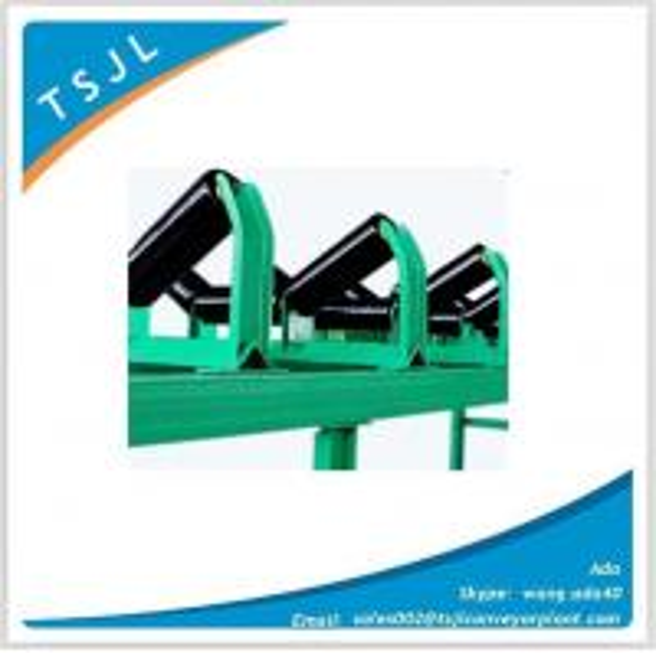 Quality Belt conveyor trough roller frame bracket with Australia CEMA standard for sale