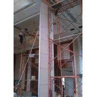 Buy cheap Heavy Duty Large Partition Wall Steel Gusseted , Modern Partition Walls Double Roller product
