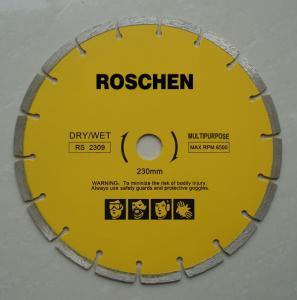 "Buy cheap Ø12"" 14"" 16"" 18"" Diamond Cutting Tools Arrayed Pattern Construction Blade product"