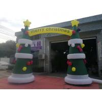 Buy cheap 8OZ  Fabric Inflatable Christmas Arch With Digital Printing / Custom Advertising Inflatables product