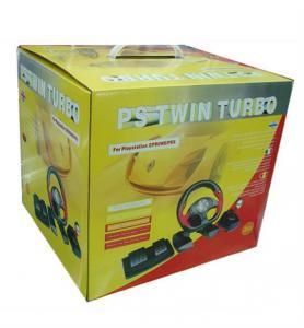 Buy cheap PS2/PC Twin Turbo Race Steering Wheel product