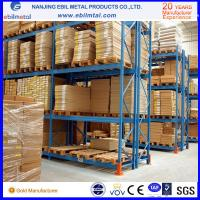 Buy cheap CE-Certificated High Loading Capacity Pallet Racking / Steel Pallet Rack product