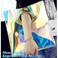 China Neon clutch bag for women, Neon Bag three bags in one set women dinner bag wholesale ladies totes handbags on sale