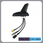 Buy cheap Auto AM FM Gps External Antenna , Shark Fin Car Aerial RHCP Polarization product