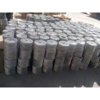 Buy cheap Hot Dipped Galvanized Brick Wall Mesh Coil Absorb Vibration ISO Certified product