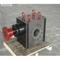 Buy cheap Hot melt gear pump for plastic extrusion product