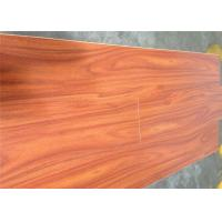 Noiseproof smooth waterproof wooden floor cherry for Diy laminate flooring