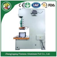 Buy cheap Bottom price Cheapest compartment aluminum foil tray  machine product
