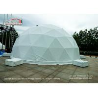 Buy cheap 20m Geodesic Dome Event Tent Steel Frame PVC Cover For Outdoor Event product