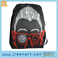 Buy cheap JSMART backpack photo bag customized rucksack abstract art MOQ FREE from wholesalers