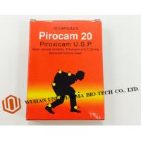 Buy cheap Western Medicine Piroxicam Usp 20mg Pharmaceutical Capsules ( Non Steroidal Antiinflammatory Agent With Analgesic ) product