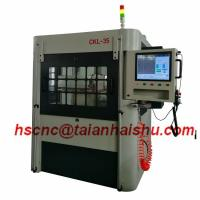 Buy cheap High Efficiency Vertical Alloy Wheel Lathe CKL-35 for large size wheel product