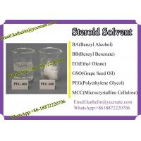 Buy cheap Steroid Solvent Polyethylene Glycol (PEG) PEG 400 / PEG 600 CAS No 25322-68-3 product